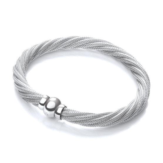 Janelle Twist Mesh Bracelet