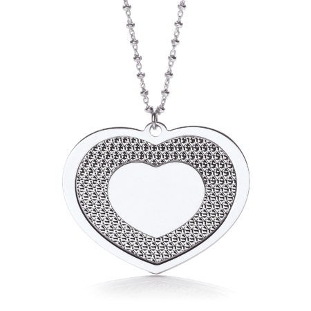 "Big Heart 18"" Necklace"