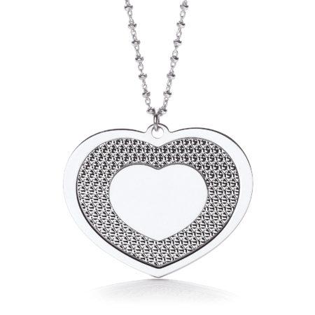 "Big Heart 18"" Necklace"
