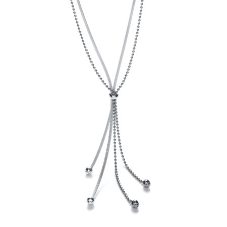 Fancy Tassle Ruthenium Chain