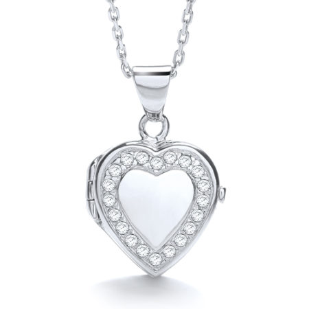 SARAH-JANE HEART LOCKET