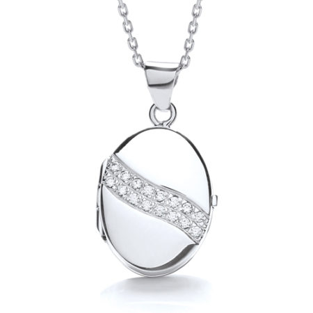 CHARLOTTE OVAL LOCKET
