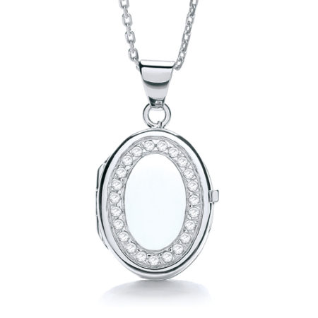 ELIZABETH OVAL LOCKET