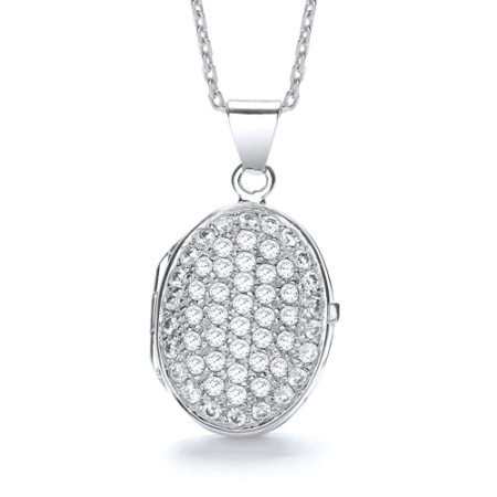 CATHERINE OVAL LOCKET