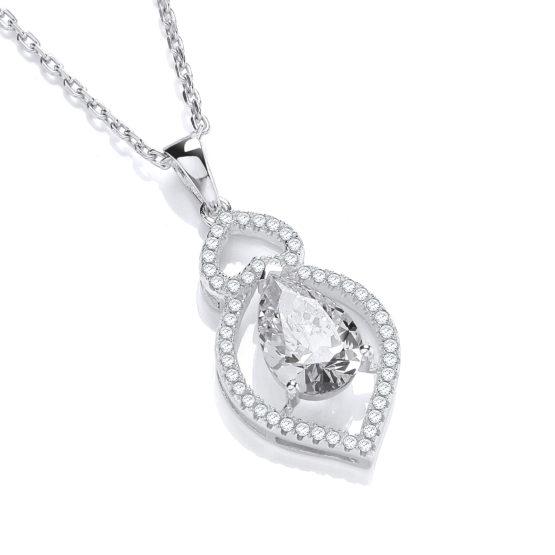 Alicia CZ Diamond Pendant Necklace
