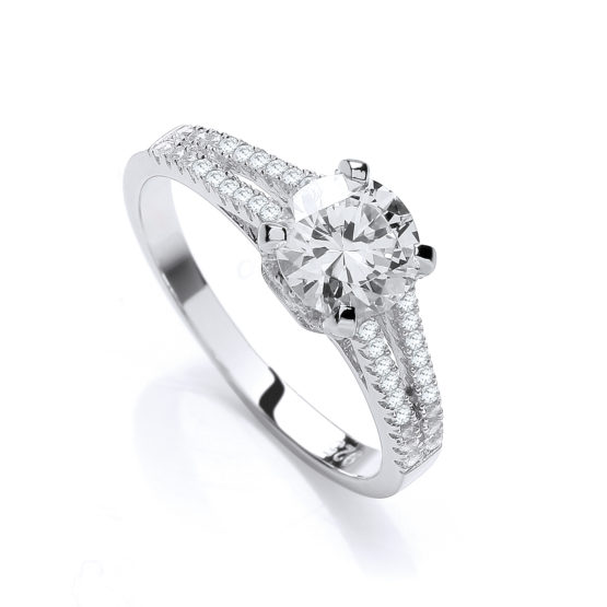 GABRIELLE SOLITAIRE RING